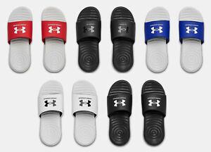 Under Armour Boy's UA Ansa Fixed Strap Slides Sandals Many Sizes