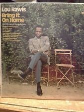 Lou Rawls Bring It On Home vinyl LP Record SEALED cut out Sam Cooke songs