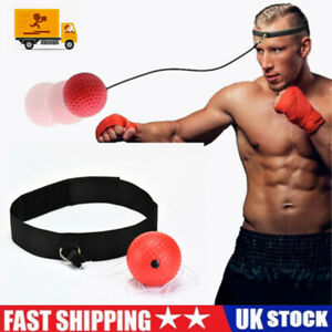Boxing Fight Ball on String Reflex Training Head Bands Improving Speed Exercise