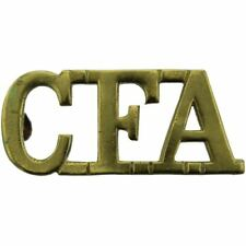 WW1 Canadian Field Artillery CFA Division Canada Corps Shoulder Title Badge EY50