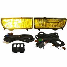 1997-2001 Honda Prelude Yellow Lens Fog Lights Driving Lamps Replacement Kit