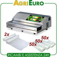 Macchina confezionatrice per sottovuoto in acciaio inox Euro 360 professionale