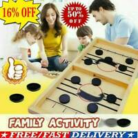 Wooden Hockey Game Table Game Family Fun Game for Kids Children 100% NEW
