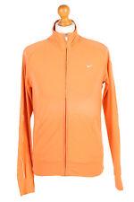 Vintage Nike Tracksuits Top NikeFit Training Streetwear WOMEN M Orange - SW2112