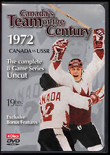 1972 Canada's Team of the Century Canada vs USSR Complete 8 Game 4 DVD set 19hrs