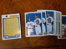 Lot of (21) 1992 Upper Deck #79 Pedro Martinez Ramon Martinez ROOKIE LA Dodgers