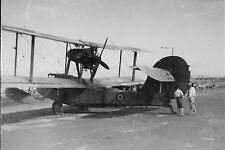 Walrus aircraft Malta World War 2 photograph