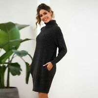 Loose Knitted Knitwear Jumper Long Sleeve Sweater Knit Shirt Pullover Casual