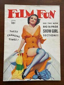 Film Fun Magazine June 1936 Pinups