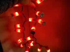 red shotgun shell lights 35 light string