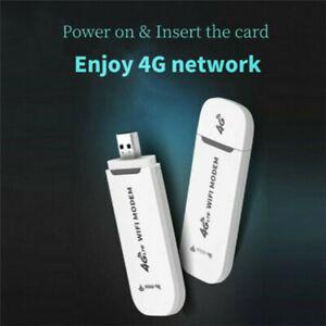 Wireless 4G USB WiFi Router Modem Network Dongle Unlocked LTE Adapter Hotspot