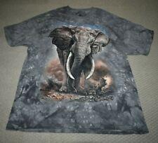 #10-5959 Adult Xl African Elephant Men/Women Mountain Brand T-Shirt