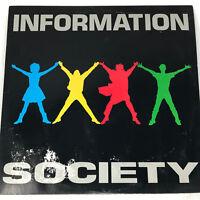 Information Society Information Society LP Vinyl Record Original 1988