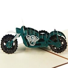 Card Father's Day Paper Greeting Cards 3D Motorcycle Greeting Card