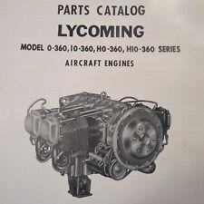 Lycoming O-360, IO-360,  HO-360 & HIO-360 Parts Manual