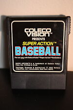 Coleco Vision Super Action Baseball 1983 Video Game