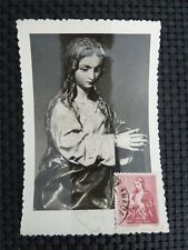 Spain MK 1960 Madonna maximum carta carte MAXIMUM CARD MC cm c1652