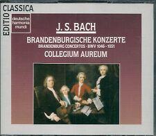 COFFRET 2 CDS CLASSIQUE--BACH--BRANDENBURGISCHE KONZERTE / COLLEGIUM AUREUM