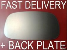 FITS NISSAN MICRA K11 1993-01 WING MIRROR GLASS CONVEX HEATE+PLATE RIGHT OR LEFT