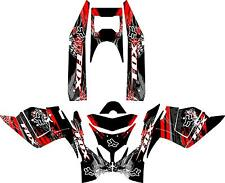 SNOWMOBILE WRAP POLARIS IQ RACER DECAL KIT    05-12  FX V1 WITH TUNNELS