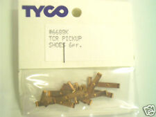 6 Pair NOS Tyco TCR Slotless  Pickup Shoes ~ Free USA Shipping