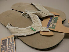 Sanuk Mens Fraid Not Natural Size 10