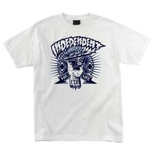 Independent Trucks Ripped Hand Skateboard T Shirt White Medium