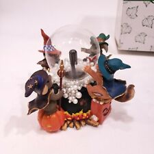 Charming Tails A Spooky Brew Lighted Figurine Halloween Fall 85/110