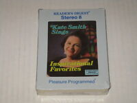 Kate Smith Sings Inspirational Favorites 8 Track Tape Stereo New! Sealed 1970's