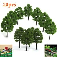 20pcs Scale 1:100 Miniature Trees Forest Landscape Scenery 9cm Model Tree