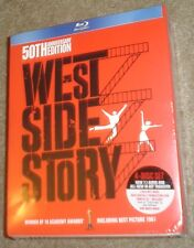 West Side Story (Blu-ray/DVD, 2011, 4-Disc Set, 50th Anniversary Edition) NEW!!