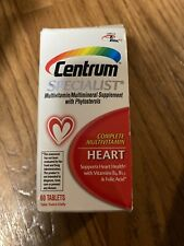 Centrum Specialist Heart Complete Multivitamin Supplement 60-Count Tablets