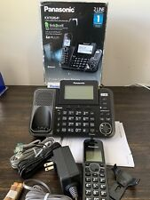 Panasonic KX-TG9541 2-Line Link2Cell Bluetooth Cordless Phone w/Answering USED!
