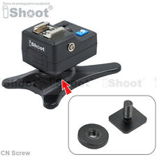 "Cold Foot-1/4"" Screw for Camera Monopod Flash Light Stand Hot Shoe Mount Adapter"