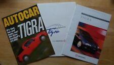 Vauxhall & Opel Tigra 1994 Car Sales Brochures 2009