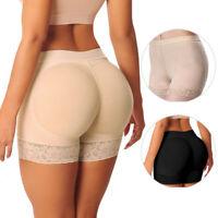 2019 Womens Lace Padded Seamless Butt HipShaper Seamless Fake Ass Butt Lifter