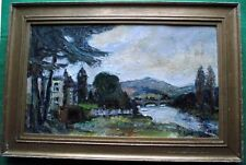 Scottish Impressionist Painting Thomas Clapperton 1961 ; Give Fine Art