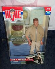 "NIB-GI JOE JOHN F KENNEDY PT BOAT 109 COMMANDER-12"" VINYL ACTION FIGURE/DOLL-"