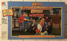 The Baby Sitters Club Mystery Game Milton Bradley 1992 COMPLETE  Vintage