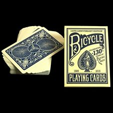 130 YEAR BICYCLE BLUE DECK PLAYING CARDS BY USPCC MAGIC TRICKS COLLECTOR POKER