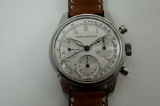 GIRARD PERREGAUX CHRONOGRAPH STAINLESS STEEL 3 REGISTER VALJOUX 72 DATES 1960'S