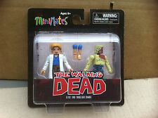 The Walking Dead Minimates Series 4 Alice and Shoulder Zombie Figures UK Seller