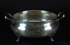 Art Deco Silber Korb -  Dreibein Schale - Silver Plated England