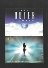 Outer Limits Sex Cyborgs & Science Fiction Promo Cards P1 & P2 Nsu