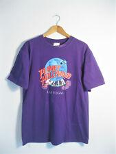 PLANET HOLLYWOOD | Men's Retro 90s Las Vegas Purple USA Souvenir T-Shirt | M