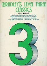 Bradley's Level Three Classics Easy Piano Lessons How to Play Richard Bradley