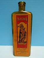 VINTAGE 1964 KICKAPOO SAGWA MEDICINE BOTTLE by CROWNFORD CHINA CO, ITALY - REPRO
