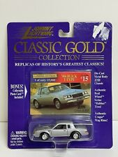 Johnny Lightning Classic Gold Collection #15-'80s Buick T-Type-L.E. NOS Unopened
