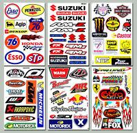 65++ Aufkleber Motorrad KTM Monster Suzuki Honda Tuning MX Vinyl Decals Stickers