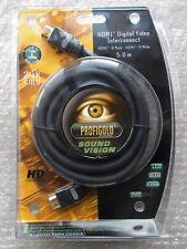PROFIGOLD SOUND VISION HDMI DIGITAL VIDEO INTERCONNECT 5,0 M 24 K GOLD NEW